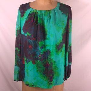 J.Crew Silk blouse, size 14